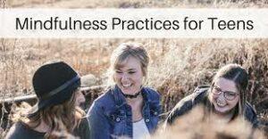 Mindfulness voor tieners